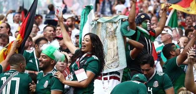 Gol de Lozano contra a Alemanha causa terremoto no México