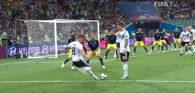Um detalhe no gol de Kroos contra a Suécia tirou R$ 26 mil de apostador inglês