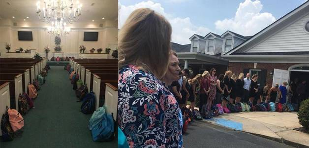 Professora pede material escolar em vez de flores em funeral: o resultado é comovente