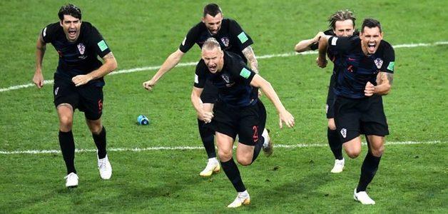 Rússia perde da Croácia e mantém jejum da sede: só seis países ganharam Copa em casa