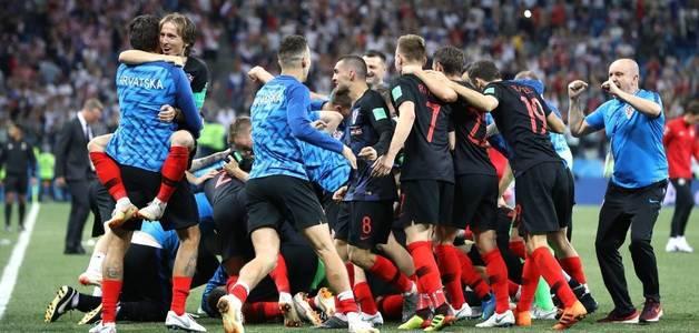 Final croata seria feito duplamente inédito