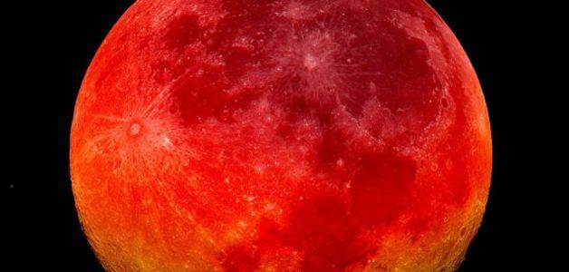 Veja 5 curiosidades sobre a 'Lua de sangue'