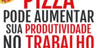 Se você quer um motivo para o seu chefe pagar a conta da pizzaria, aqui vai um bem quentinho