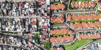A desigualdade social no mundo vista através de um drone