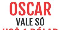 A estatueta do Oscar vale só US$ 1 dólar.